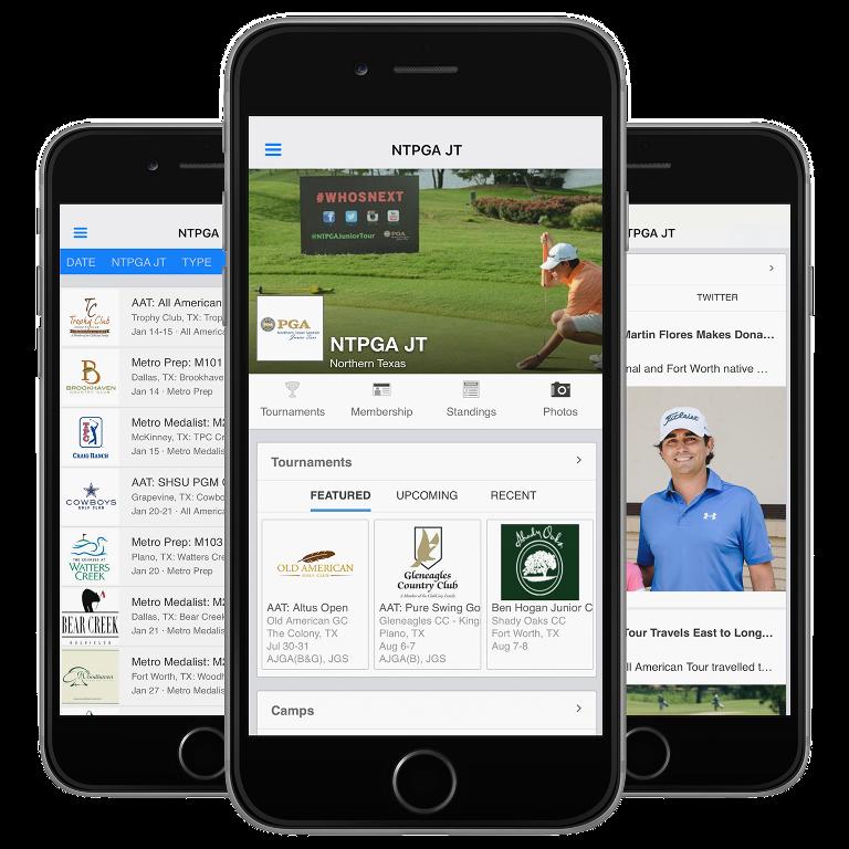 BlueGolf - Junior Golf App